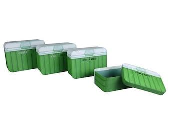 Green Cooler Designed Cardboard box Sets with lids!