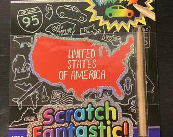 Scratch off fun & games activity books!