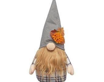 Mini Fall Stuffed Floral Gnome Sitter!