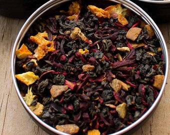 Transylvania Tea Party, Vampire Tea, Loose Leaf Tea, Autumn Tea, Mabon Tea, Samhain Tea, Black Tea, Caffeinated Tea, Spiced Tea