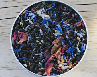 Fae Grey , Earl Grey, Tea, Bergamot Tea, Bergamot Peel, Breakfast Tea, London Fog , Cornflower , Lavender , Rose , Loose Leaf Tea