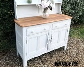 SOLD - Vintage Ercol Dresser Hand Painted