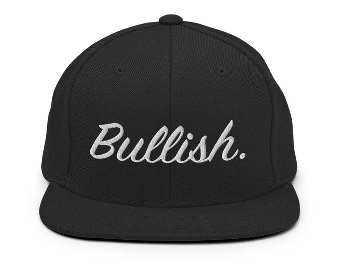 Unisex - The Stock Market is only Bullish - Snapback