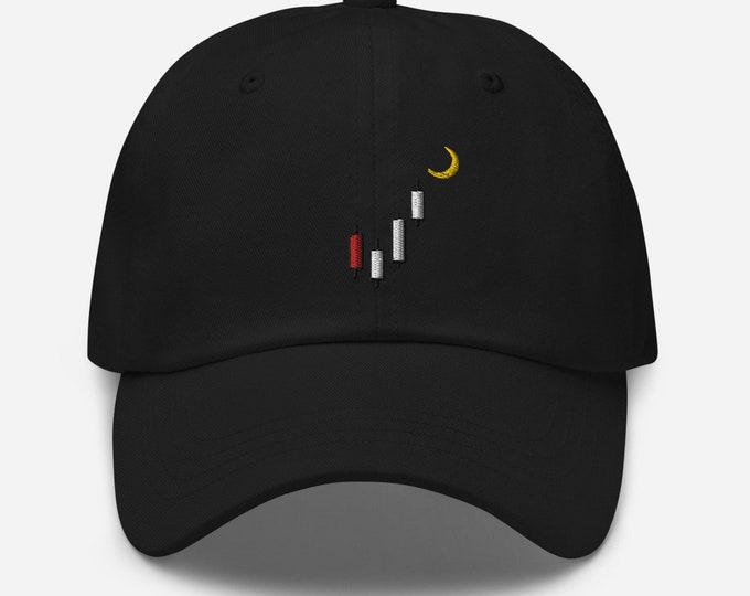 Unisex - Stock Market Trading Bullish Engulfing Pattern Dad Hat