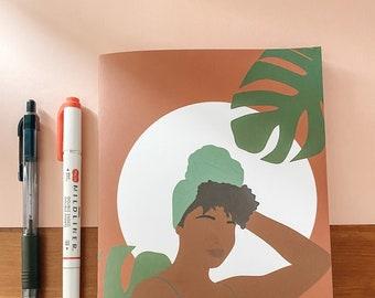 Gratitude and Dream | Handmade A5 Notebook