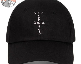 Cactus Jack Baseball Cap | Travis Scott Inspired Embroidered Hat | Hip Hop Fan Streetwear Apparel