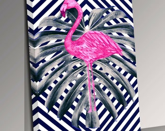 Colour or black and white high quality print 9x6/'/' in A4 mount The Flamingo Twins