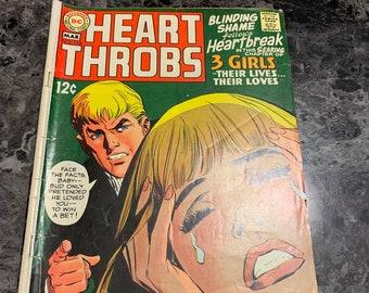 Vintage Heart Throbs Comic, 1969 DC Comics