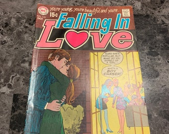 Vintage Falling In Love Comic, 1969 DC Comics