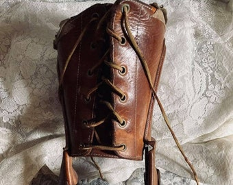Vintage Wooden Prosthetic Leg