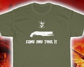 Come And Take It Doom Super Shotgun T-Shirt (Doom 2016, Doom: Eternal, Doom Shirt)
