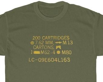 Ammo Can T-shirt (7.62 NATO) Pro-Gun, 2nd Amendment, Gun Control, Conservative