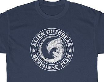 Alien Outbreak Response Team T-Shirt (Xenomorph, Aliens Fireteam Elite, Alien Isolation, Colonial Marines, Predator)