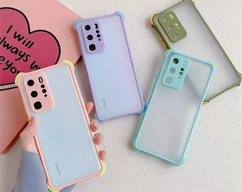 Shockproof Bumper Case for Samsung Galaxy S20 S21 S10 case Samsung Note 20 10 S10 case S9 plus case s20 Samsung A50 A70 A71 o112