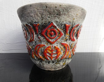 UE-Keramik Ceramic pot flower pot ceramic 70s class decor modernist 70s design designclassics24