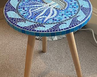 Mosaic Tile Table Etsy