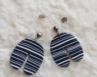 christmas gift earrings 3D printed earrings for women nelly earrings minimalist earrings lightweight woman earrings