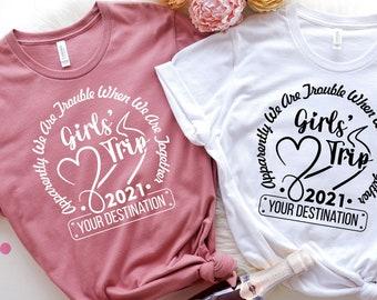 Girls' Trip Shirt   Girls Vacation Shirt   Girls Travel Shirt   Road Trip   Best Friends Gift   Travel Lover Gift   Besties Shirt