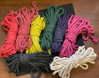 Shibari rope, cotton rope, bondage rope, bdsm rope, natural bdsm rope, shibari kinbaku, shibari rope bondage, kink, fetish, shibari rope kit