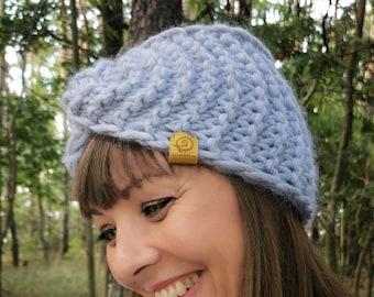 Twist headband, Warm Headband, Hairband, Womens headband, Wide headband, Super Chunky Knit, Winter hairband by SPLOTEKA, WOOLY collection