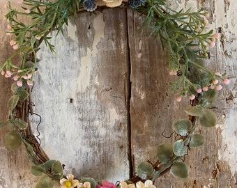 Woodsy twig letter O