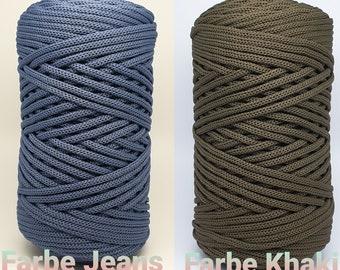 Polyester Häkelschnur / Crochet string CANDY