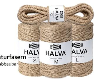 Jutegarn Halva