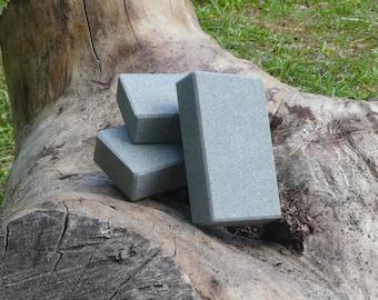 Naturschleifstein für Taschenmesser