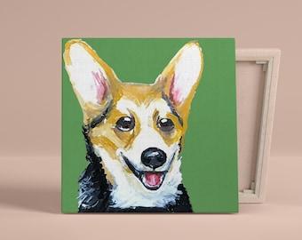 Custom Hand-Painted Pet Portait