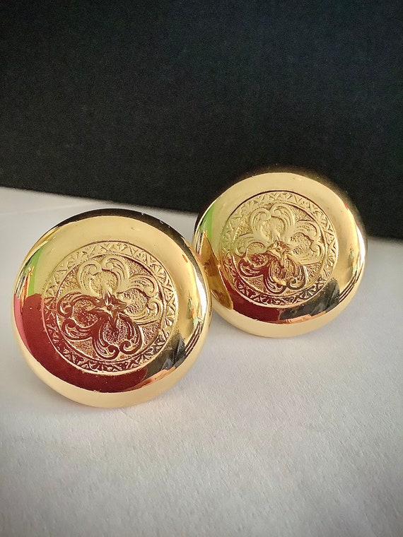 Gorgeous Vintage Givenchy Clip On Earrings