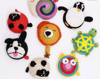 Rolling tape measure with animal motive/ ideal take-away gift/ party gift/ up to 150 cm long/ amazing gift for kids