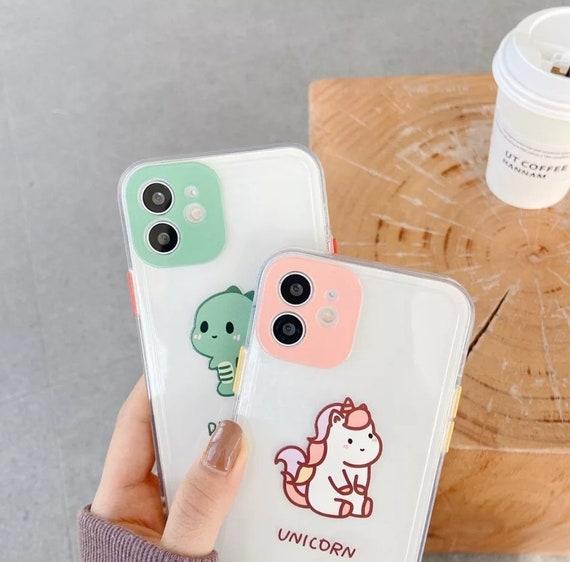 Cute Dinosaur Frame iPhone Case