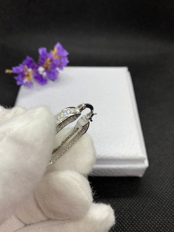 Celine Parise Silver Earrings - image 2