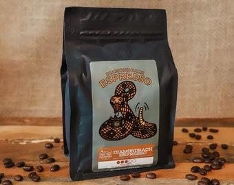 Diamondback Espresso Coffee - Medium Roast, Premium Espresso Blend, Coffee Lover Gifts, Birthday Gift, Wedding Gift, Fall