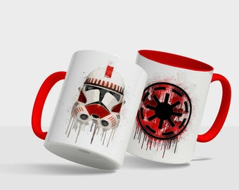 Star Wars Shocktrooper Clone - Drip design mug