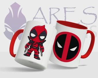 Marvel Cute Deadpool mug