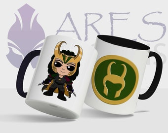 Marvel Cute Loki mug