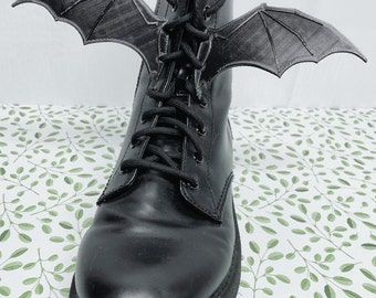Boot Bat Wings - Cosplay Boot Accessories - Shoelace Wings - Bat Wings for skates or boots!