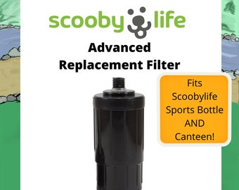 Scoobylife by PawVentures® Advanced Water Bottle and Canteen Replacement Filter