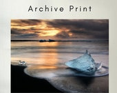 Iceland : Blue Ice - Archive Matte Print