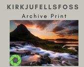 Kirkjufellsfoss - Archival Matte Print