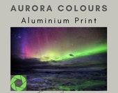 Aurora Colours - Aluminum Print