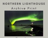 Northern Lighthouse - Archival Matte Print