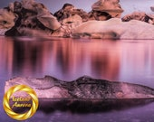 Iceberg Rainbow, Jokulsarlon Glacier Lagoon, Iceland - Printable Iceland Nature Wall Art, Iceland Landscape Photography, Digital Download
