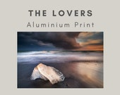 Iceland : The Lovers - Aluminum Print