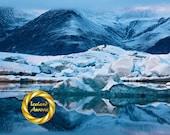 Blue Yonder - Limited Edition Print : Jokulsarlon Iceland