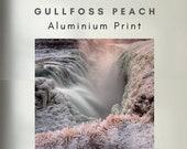 Gullfoss waterfall - Aluminum Print
