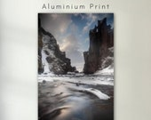 Fjaðrárgljúfur Iceland - Aluminum Print