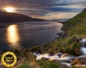 Westfjords Iceland Hestafjordur - Nature Photo Wall Art, Printable Iceland landscape scene, Digital Download