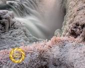 Gullfoss waterfall - Aluminum Print : Iceland Landscape